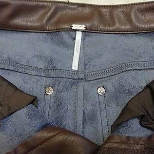 Free People Pants - Free People Vegan Brown Skinny Pants